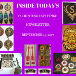 Friday Scouting Hot Finds Newsletter September 15, 2017