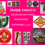 Sunday Scouting Hot Finds Newsletter September 17, 2017