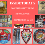 Sunday Scouting Hot Finds Newsletter September 24, 2017