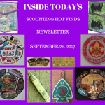 Tuesday Scouting Hot Finds Newsletter September 26, 2017