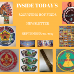 Friday Scouting Hot Finds Newsletter September 29, 2017
