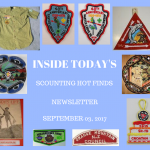 Sunday Scouting Hot Finds Newsletter September 3, 2017