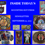 Tuesday Scouting Hot Finds Newsletter September 5, 2017