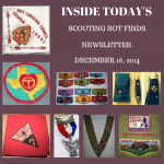 Tuesday Scouting Hot Finds Newsletter December 16, 2014