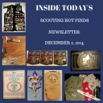 Tuesday Scouting Hot Finds Newsletter December 2, 2014
