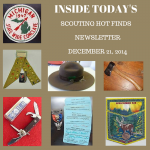 Sunday Scouting Hot Finds Newsletter December 21, 2014