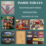 Sunday Scouting Hot Finds Newsletter December 28, 2014