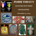 Tuesday Scouting Hot Finds Newsletter December 30, 2014