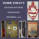 Sunday Scouting Hot Finds Newsletter December 7, 2014