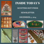 Tuesday Scouting Hot Finds Newsletter December 9, 2014