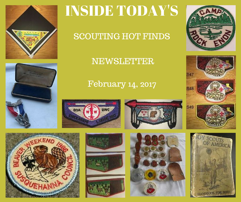 Tuesday Scouting Hot Finds Newsletter February 14, 2017