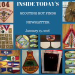 Sunday Scouting Hot Finds Newsletter January 15, 2017