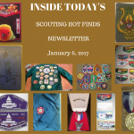 Friday Scouting Hot Finds Newsletter January 6, 2017