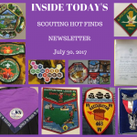 Sunday Scouting Hot Finds Newsletter July 30, 2017