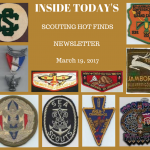 Sunday Scouting Hot Finds Newsletter March 19, 2017