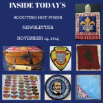 Friday Scouting Hot Finds Newsletter November 14, 2014