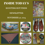 Sunday Scouting Hot Finds Newsletter November 30, 2014