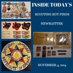 Tuesday Scouting Hot Finds Newsletter November 4, 2014