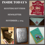 Friday Scouting Hot Finds Newsletter November 7, 2014