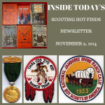 Sunday Scouting Hot Finds Newsletter November 9, 2014