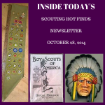 Tuesday Scouting Hot Finds Newsletter October 28, 2014