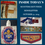 Friday Scouting Hot Finds Newsletter October 31, 2014