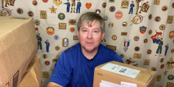 40 Pounds of Boy Scout Patches To Unbox