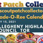 Boy Scout Trade-O-Ree Calendar: Allegheny Highlands Council TOR