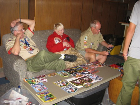 Monday Patch Trading Wrap-Up at the 2009 NOAC