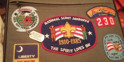 The Infamous Apple Bag From the 1985 National Boy Scout Jamboree