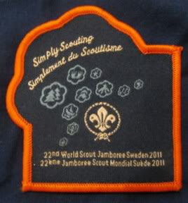 What's with all the 2011 World Scout Jamboree border colors
