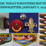 Sunday Scouting Hot Finds Newsletter January 6, 2019