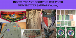 Friday Scouting Hot Finds Newsletter January 11, 2019