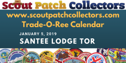 Santee Lodge 116 Boy Scout Trade-O-Ree January 5 2019